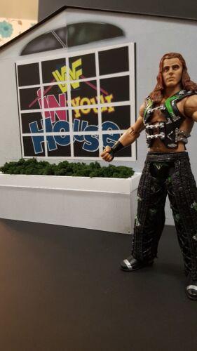 Custom WWF//WWE nella tua casa ingresso stadio per figure wrestling Mattel scala
