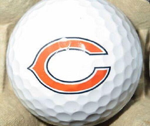 (36) 3 Dozen Callaway Near Mint AAAA NFL (Chicago Bears Logo) Golf Balls