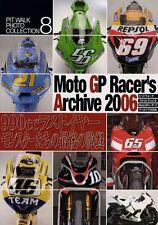 [BOOK] Moto GP Racer's Archive 2006 Ducati Desmosedeci D16GP6 KR211V ILMOR X3