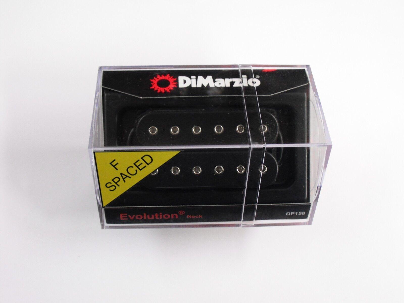 Dimarzio Dimarzio Dimarzio F-espaciados evolución Humbucker cuello negra con postes de Cromo DP 158 c7557e