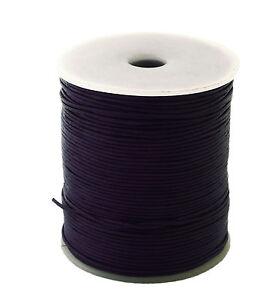50m-Lederband-auf-Rolle-Spule-046-1m-1-5mm-stark-50-Meter-Farbe-dunkellila