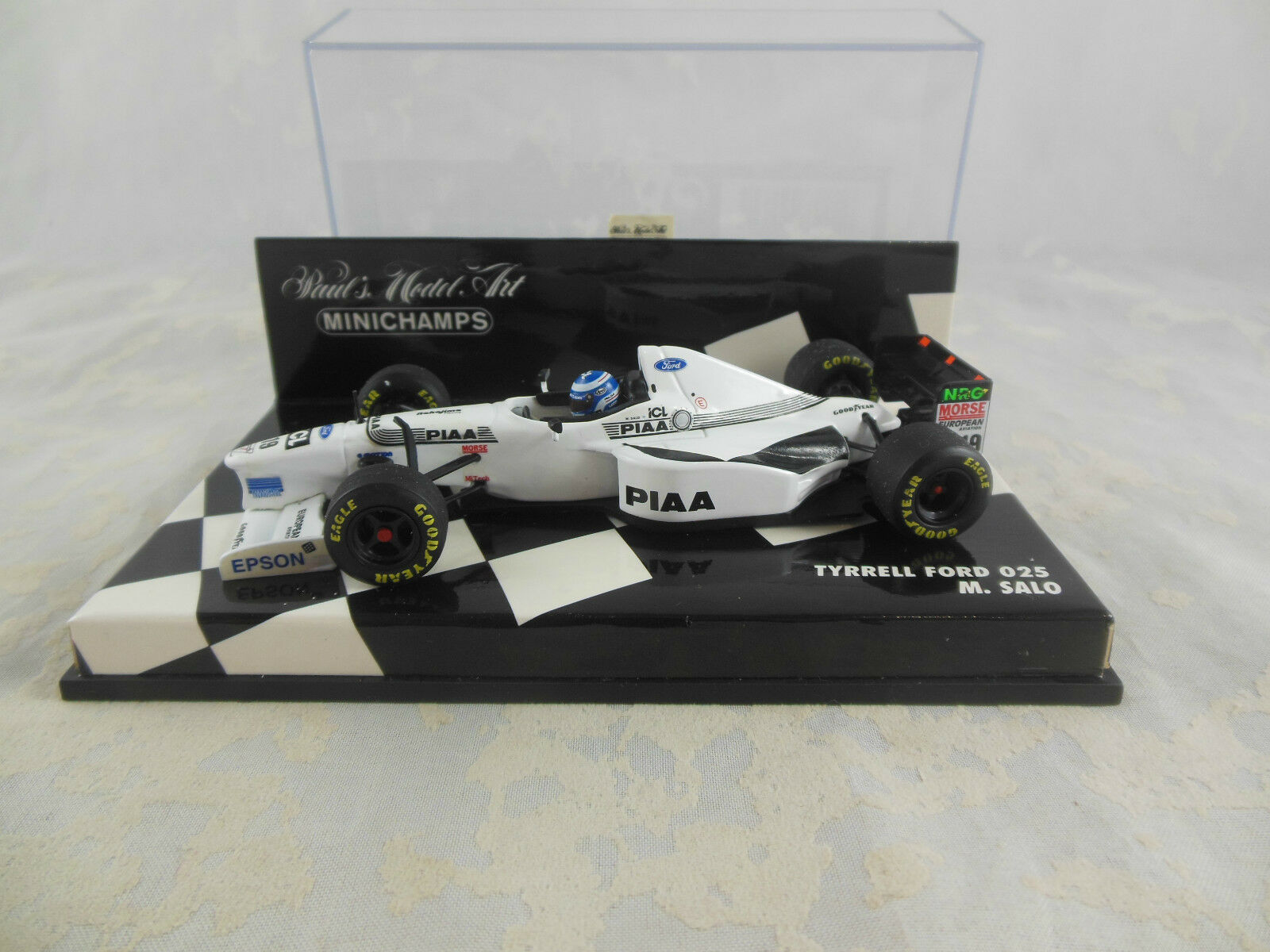 Minichamps 430 970019 1997 Tyrrell Ford 025 Mika Salo Racing No19 1 43 Scale