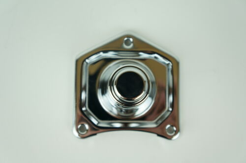 Mid USA 17762 Chrome Solenoid Cover Push Button Starter Harley Big Twin /'91-/'17
