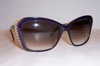 NEW ALEXANDER MCQUEEN SUNGLASSES AMQ 4147//S VIOLET//MAUVE EM0-J8 AUTHENTIC