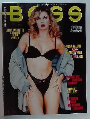 62734 Rivista - Boss Anno III n. 23 - Ottobre 1995 - Alba Parietti | eBay
