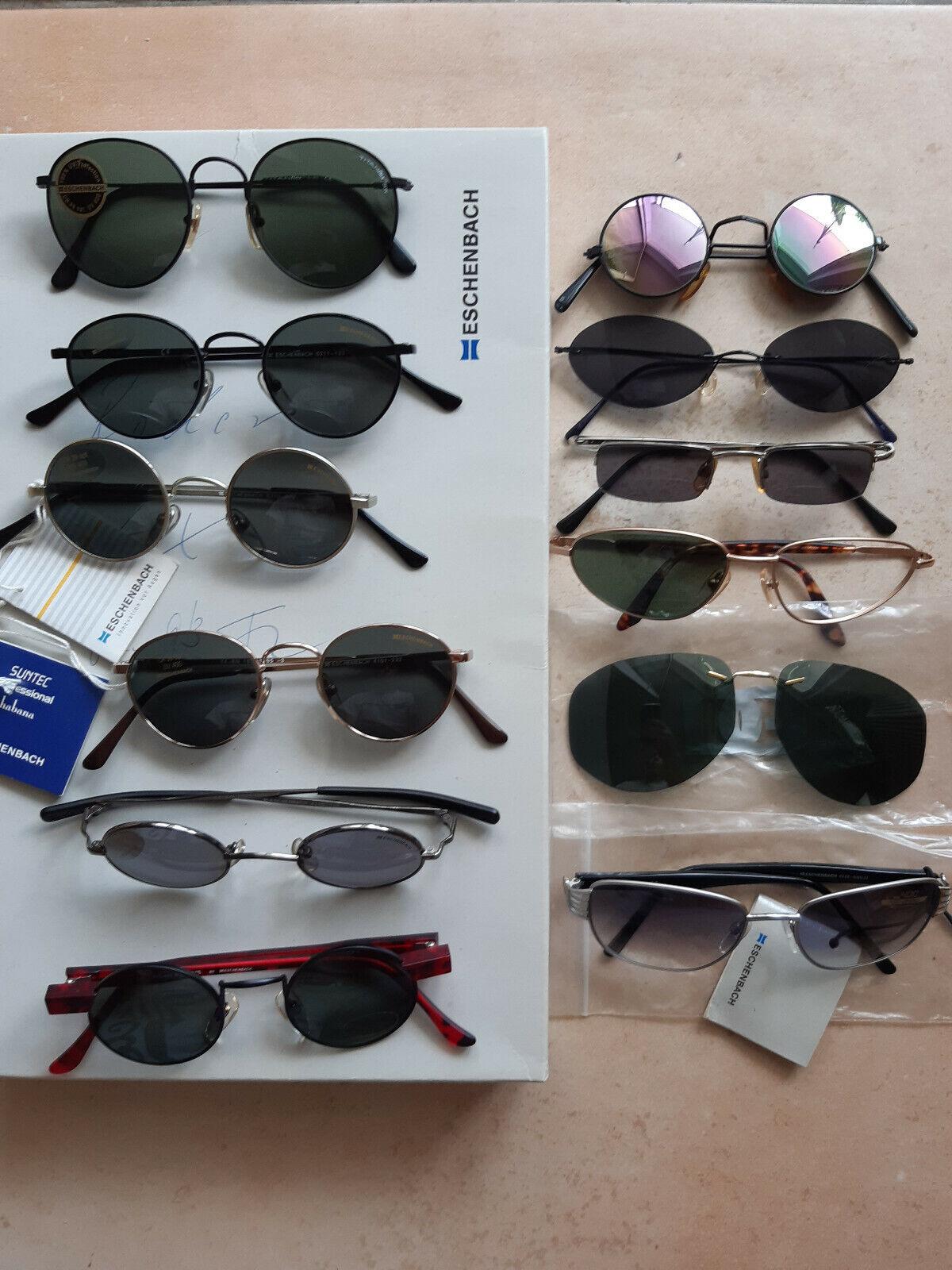 12 Stück Sonnenbrille ESCHENBACH meist neu