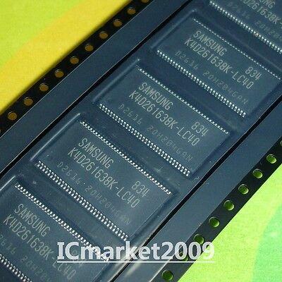 1 PCS K4D261638K-LC40 TSSOP-66 K4D261638 LCD motherboard memory