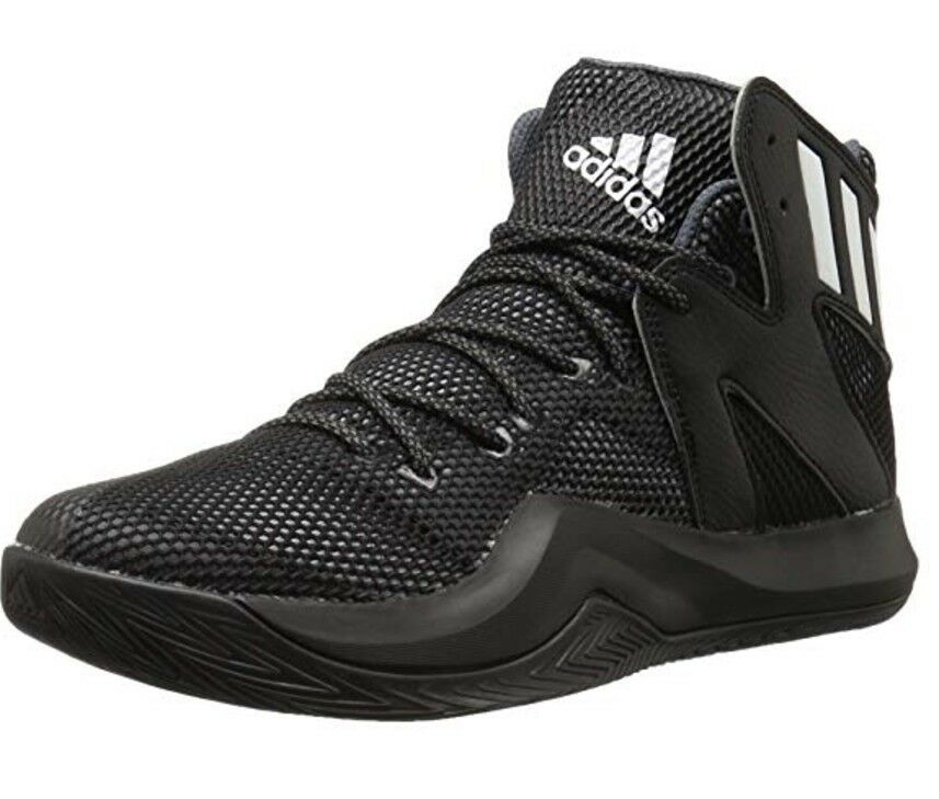 Adidas Performance Men's Crazy Bounce Basketball shoes Size 8 (Black White)