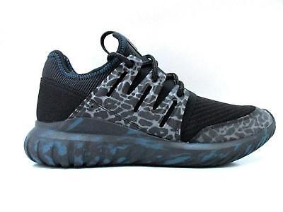 Uomo Adidas Tubolare Radiale S81882 Scarpe da Ginnastica Bianche Nere | eBay