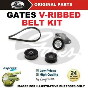 GATES FAN BELT PULLEY KIT for MERCEDES BENZ E-CLASS E350 2005-2008