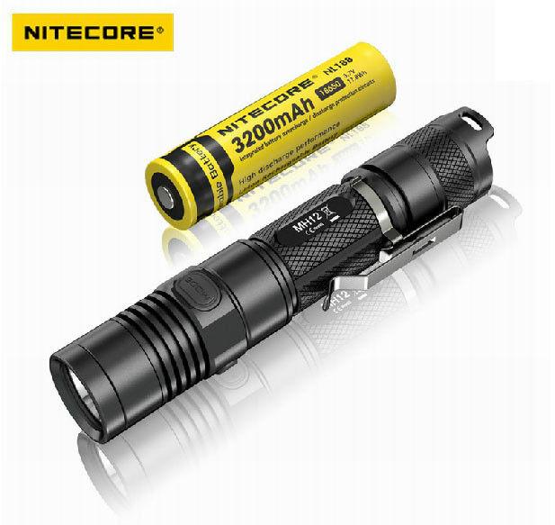 Nitecore MH12 CREE XM-L2 U2 LED Rechargeable Flashlight 1000 Lumens