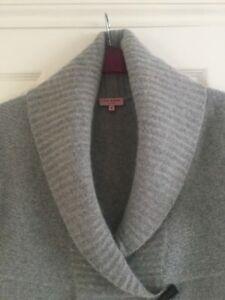 et en pour gris Ted doux argent Baker Cardigan laine angora femmes tqqXFw7