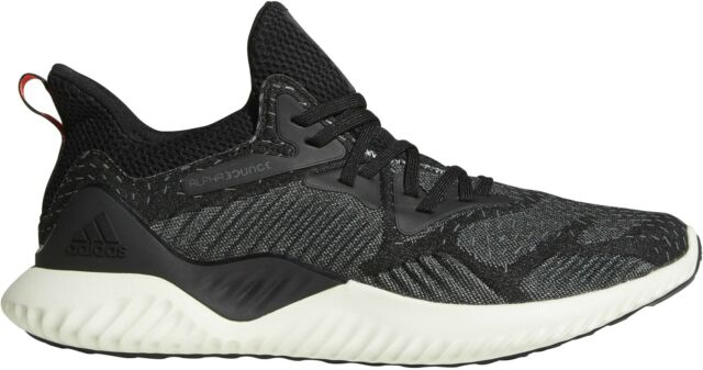 cfa32e2a9 adidas Alphabounce Beyond M Black Ash Grey Men Running Shoes ...
