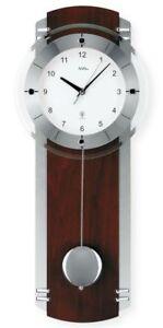 AMS-5245-1-Moderno-Reloj-de-pared-con-mecanismo-radio-RADIO-pilas