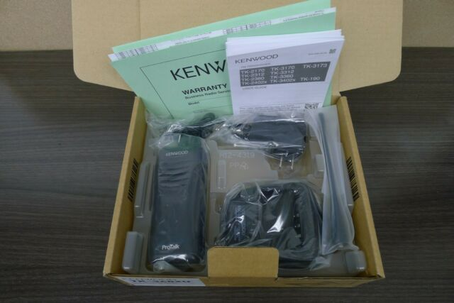 Kenwood TK-3402U16P ProTalk UHF 5-Watt 16-Channel Portable 2-Way Radio