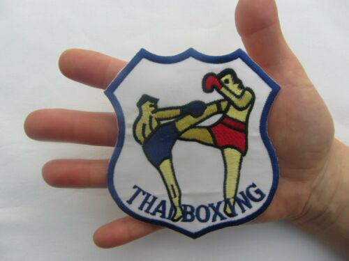 THAI BOXING Cloth Embroidered Badge Martial Arts Karate Badge