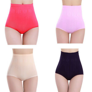 0b4b0bd2a95a7 Sexy Womens High Waist Cotton Tummy Control Body Shaper Briefs ...