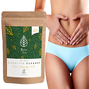 Detox Tea Digestive Cleanse 28 Day - Weight Loss Tea - Detox Tea - Skinny Tea
