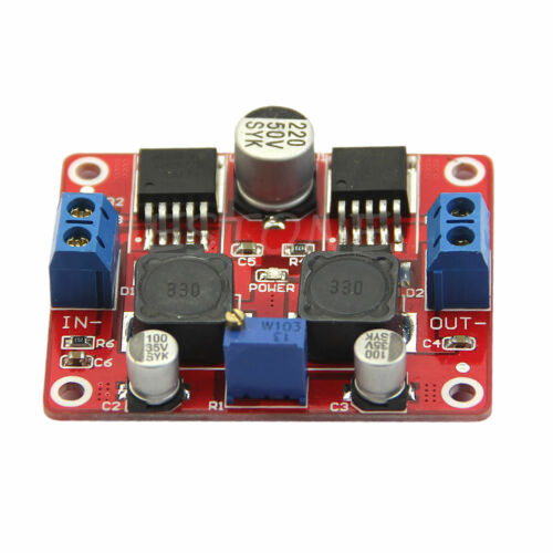 3.5-28V to 1.25-26V DC-DC Converter Boost Buck Step Up Step Down Voltage Module