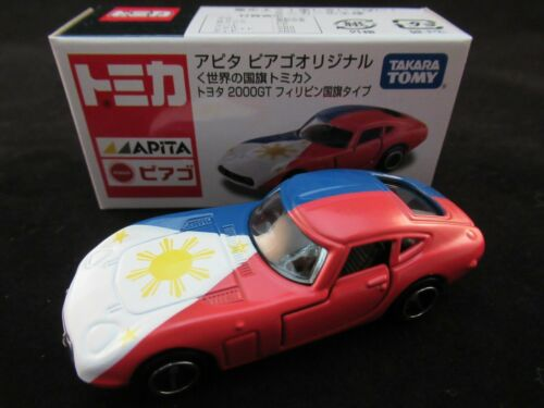 ***TSS Tomica Toyota 2000GT Phillipines Flag Ver ( Apita Shop Special Model )