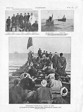 Mission Diplomatique Française à Tanger Fez Larache Sultan du Maroc GRAVURE 1905