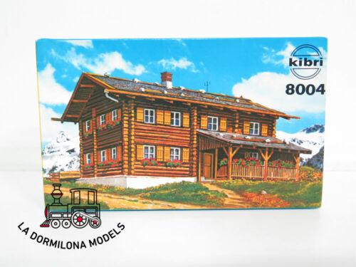 KIBRI 8004 H0 1:87 Haus Sonnenhalde NUEVO Casa de Madera sonnenhalde