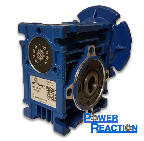 MOTOVARIO NMRV30 right angle worm gearbox size 30 14mm speed reducer