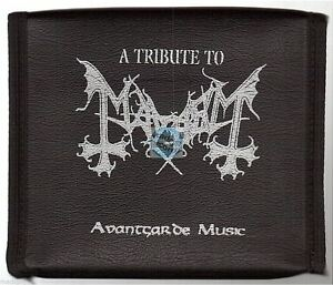A-TRIBUTE-TO-MAYHEM-leather-case-no-poster-CD-ALBUM-immortal-vader-emperor
