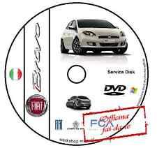 MANUALE OFFICINA FIAT NUOVA BRAVO WORKSHOP MANUAL SERVICE CD DVD SOFTWARE ELEARN