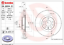 2x disco de freno para dispositivo de frenado eje delantero Brembo 09.8004.51