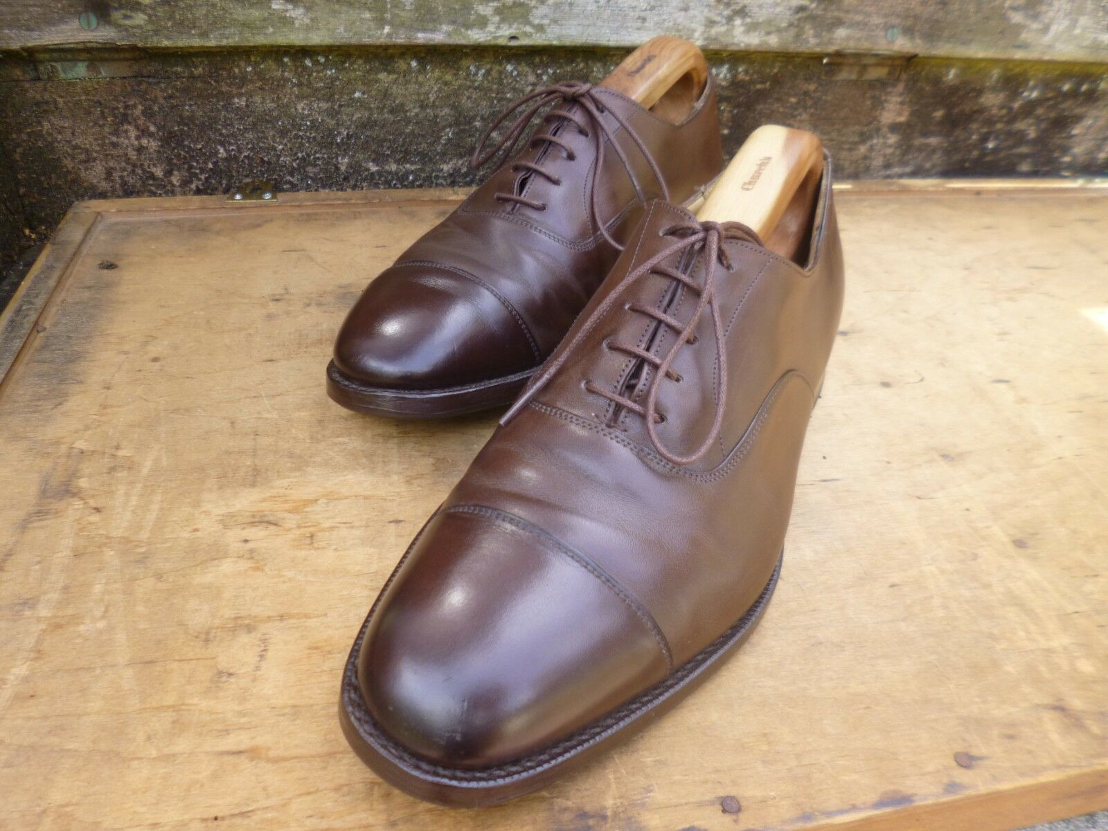 CHURCH OXFORD – braun - UK 8.5 – CONSUL - EXCELLENT CONDITION    | Online Outlet Store
