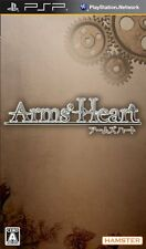 Used PSP Arms' Heart  Japan Import ((Free shipping))