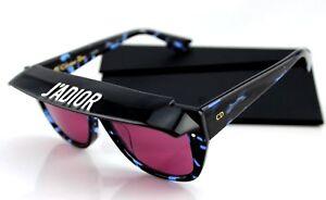 NEW-Authentic-Christian-DIOR-CLUB-2-J-039-ADIOR-Havana-Blue-Pink-Sunglasses-JBW-U1