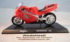 MOTO Honda NR in scala 1:18 di Maisto Modello con piastra STAND