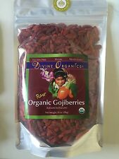 Organic Goji Berries (14 Ounces) By Divine Organics Super Foods