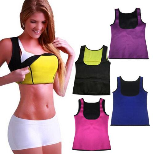 New Summer Sauna Body Shaper Women Slimming Vest Thermo Neoprene Waist Trainer
