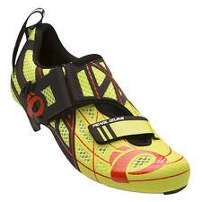 Pearl Izumi Tri Fly P.R.O. PRO v3 Carbon Triathlon Cycling Shoes Lime/Black 45