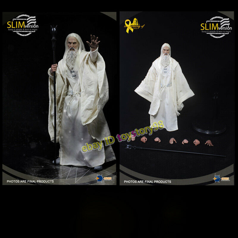 Asmus Toys The Lord of the Rings Saruman 1 6 The White Wizard Action Figure New