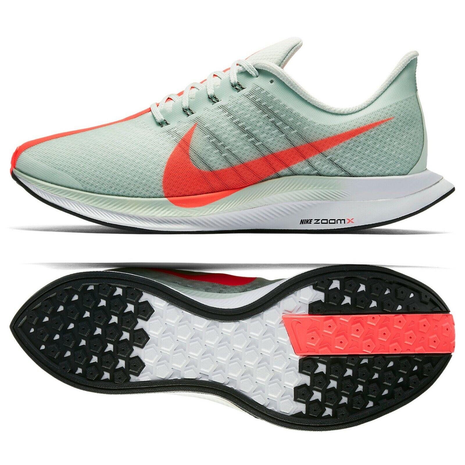 Nike Zoom Pegasus Turbo AJ4114-060 Barely Grey Hot Punch Black Men's shoes Sz 15
