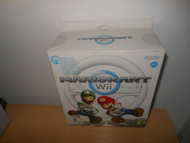 Mario Kart Wii ~ Nintendo Wii ~ Neuf Scellé Volant Version Pal