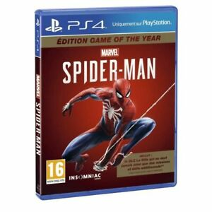 Marvel-SpiderMan-DLC-Game-of-the-Year-PS4-GOTY-Edition-New-Sealed-FR