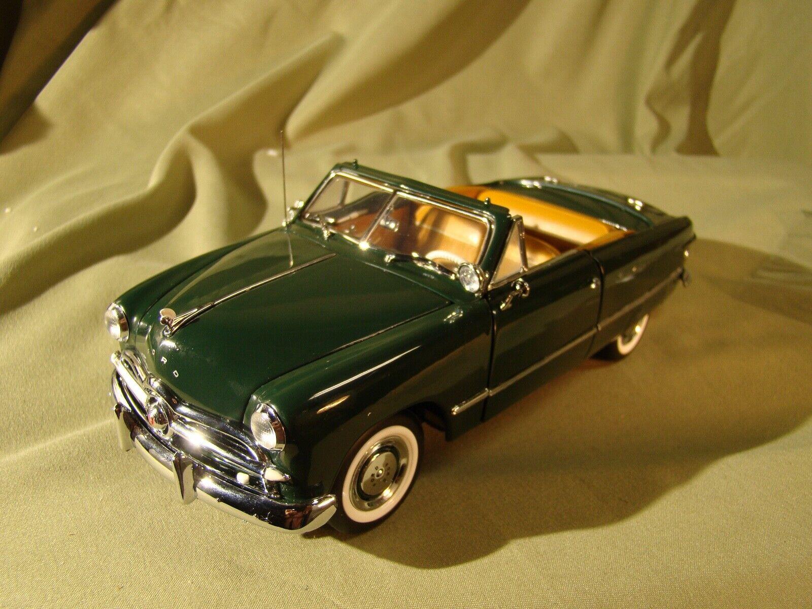 artículos de promoción Franklin Franklin Franklin Mint verde converdeible Ford 1949 Raro Solo 2500 Como Nuevo  ofreciendo 100%