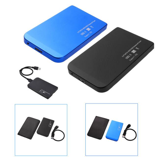 2.5'' USB 3.0 High Speed SATA SSD HDD Hard Drive Dock Enclosure Case Station Box