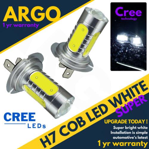 H7 Canbus Sans Erreur COB CREE DEL SMD Super Bright Blanc Ampoules Phare HID 12 V