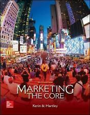 Marketing : The Core by Roger Kerin and Hartley (2015, Paperback)
