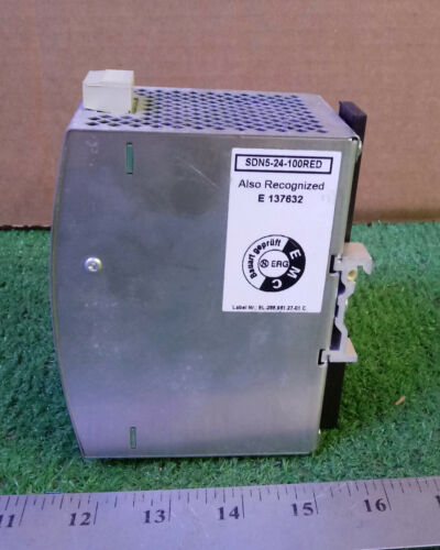 1 USED SOLA SDN 5-24-100 RED POWER SUPPLY ***MAKE OFFER***