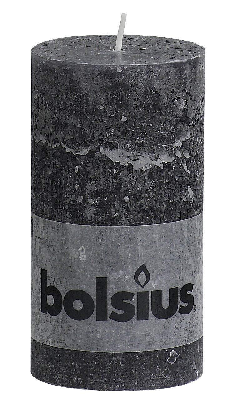 19ede80cc6b0 Rustic 103867590331 Pillar Candle Paraffin Wax Anthracite