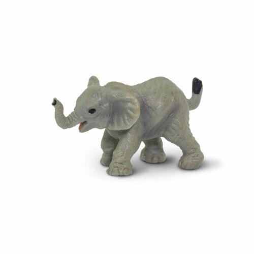 "SAFARI LTD ELEPHANTS LOT OF 25 GOOD LUCK MINIS #340222 TINY 1/"" LONG"