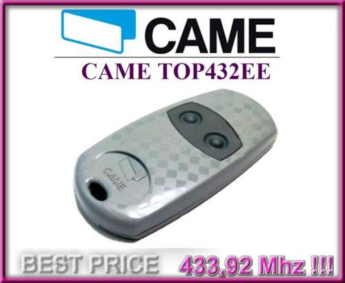 CAME TOP432EE 2-canaux télécommande 433,92Mhz CAME emetteur de haute qualité!!!