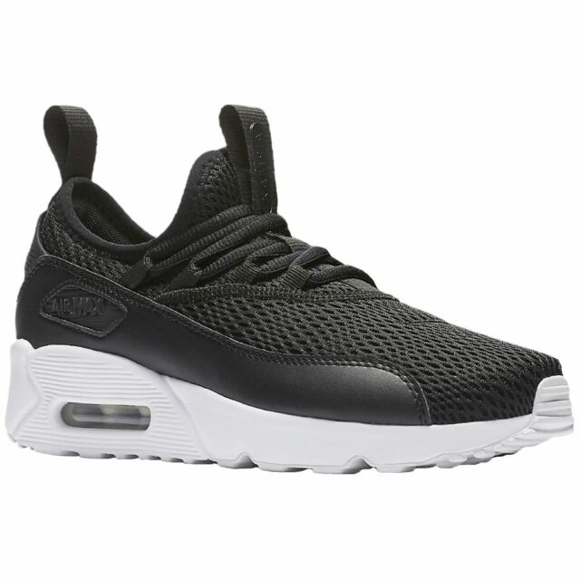 3ccc26bc7f Nike Air Max 90 EZ GS Black White Kids Youth Women Running Shoes AH5211-005